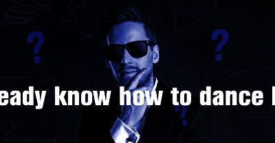 I already know how to dance but…